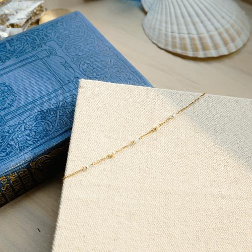 寶石手鍊-藍托帕石