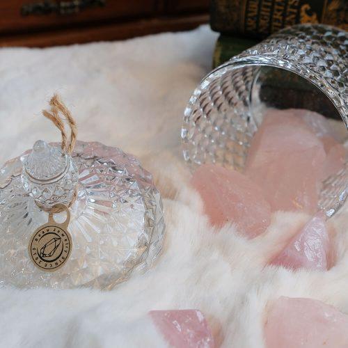 粉晶原礦擴香石