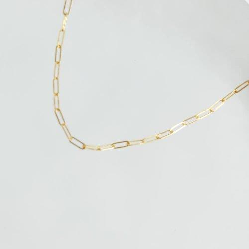 14K包金 – 單層簡約項鍊