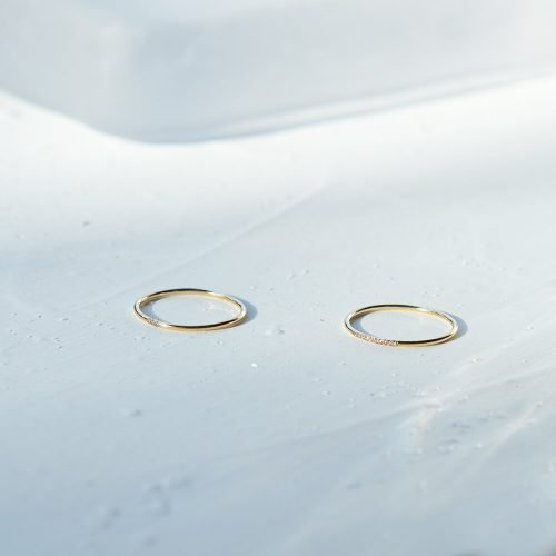 十鑽戒 – 14K包金